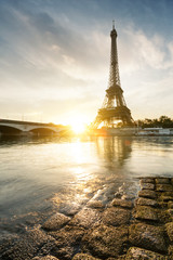 Canvas Print - Tour Eiffel Paris