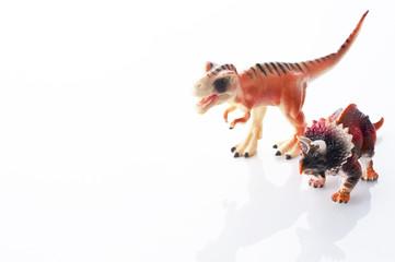玩具の恐竜