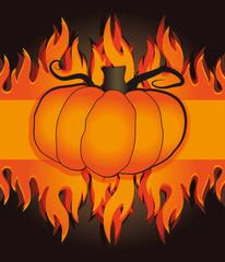halloween pumpkin fire