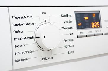 Waschmaschine - Bedienfeld