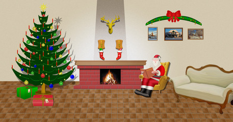 am  Weihnachtsabend