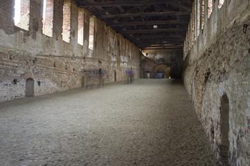Vigevano Sforza gallery color image