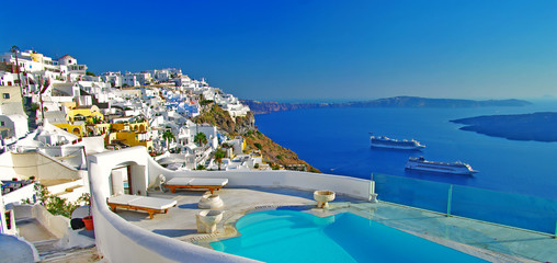Self adhesive Wall Murals Santorini luxury holidays -Santorini
