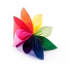 colorful flower for kusudama