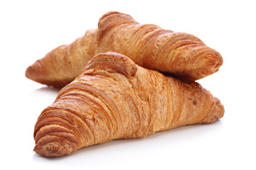Croissants, traditional French pastry