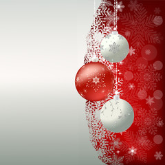 Beauty Christmas and New Year background