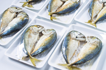 Steamed fish in wrap package