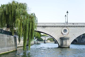 The Siene River in Paris . France.