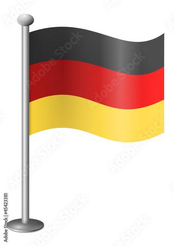 deutsche fahne stockfotos und lizenzfreie vektoren auf bild 45423381. Black Bedroom Furniture Sets. Home Design Ideas