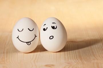 couple cute eggs