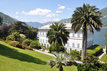 Villa Melzi in Bellagio town at the famous Italian lake Como