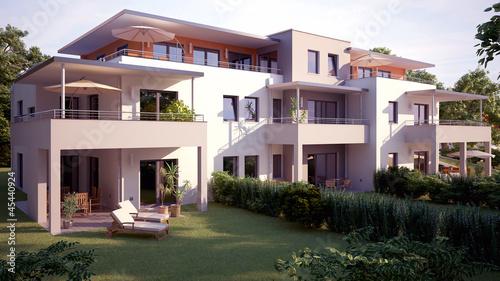 Mehrfamilienhaus in bayern stockfotos und lizenzfreie for Mehrfamilienhaus modern