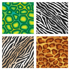 Seamless Animal Print Background