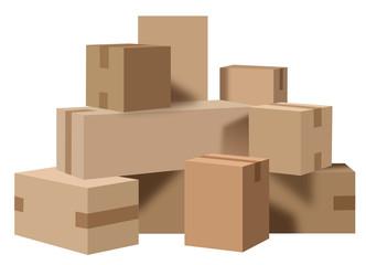 Boites carton déménagement