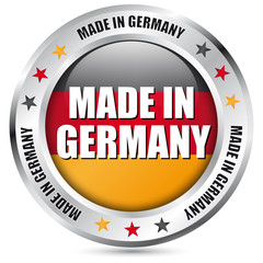 "Button ""Made in Germany"""