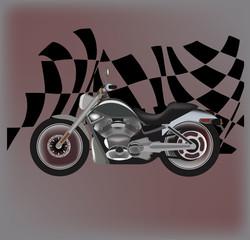 Keuken foto achterwand Motorfiets motociclismo
