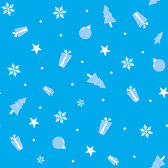 Winter holidays background, Vector