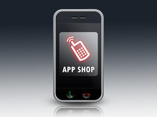 "Smartphone ""App Shop"""