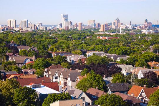Milwaukee - city panorama