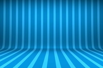 Blank striped studio background