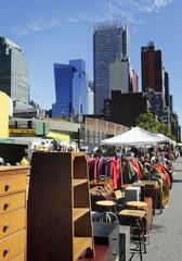 Flohmarkt in New York