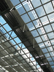 Roof of a modern building