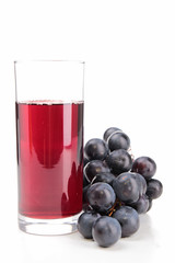 Foto op Canvas Sap isolated grape juice