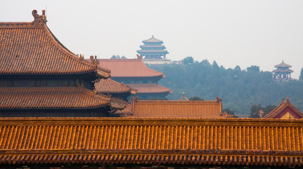 Forbidden City and Jingshan Park