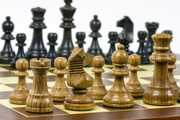 Set of chess figures