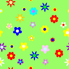 Seamless. floral background