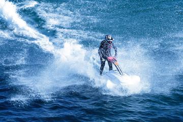 jet-ski fun on a day