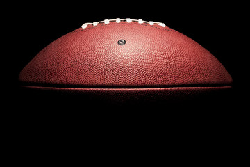 High Contrast Horizontal American Football