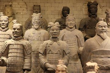 Foto op Aluminium Xian The famous terracotta warriors of XiAn, China
