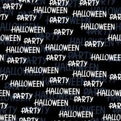 Happy Halloween vector seamless pattern. Stylish background.