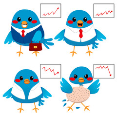 Bird Business Concept