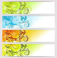 Banners: seasons