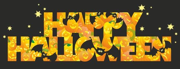 """""""letters of halloween pumpkins"""""""