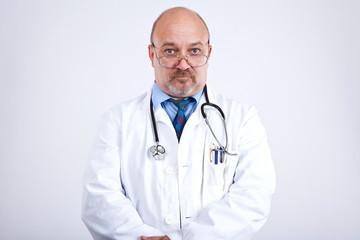 Arzt wartet