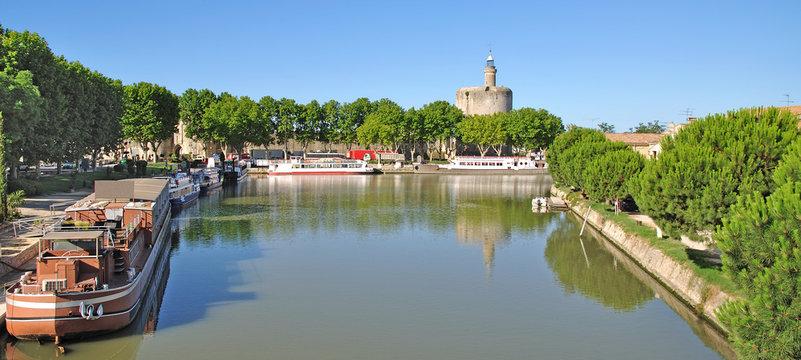 Urlaubsort Aigues-Mortes in der Camargue