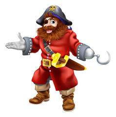 Foto op Plexiglas Piraten Pirate illustration