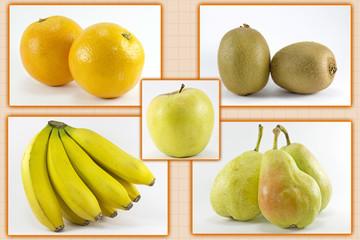 Five fruits per day