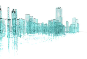 Arquitectura abstracta con lenguaje binario