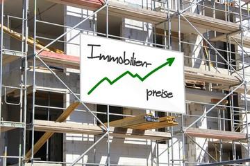 Baustelle Immobilien Preise