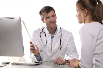 Fototapeta konsultacje medyczne
