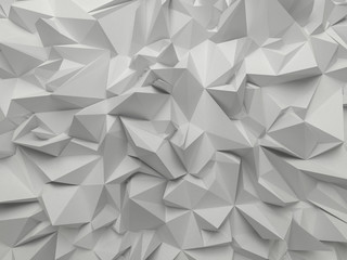 abstract white crystallized background