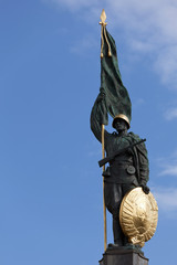 The Heroes Monument in Vienna