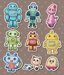 Door stickers Monster cartoon robot sticers