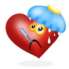 cuore malato