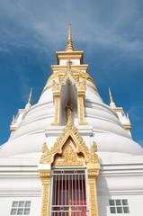 huakuan temple chedi in yala, thailand