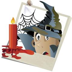 halloween snapshot vector